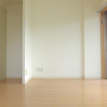 家具の配置も問題なさそうですね!※写真は12階の反転間取り角部屋のものです