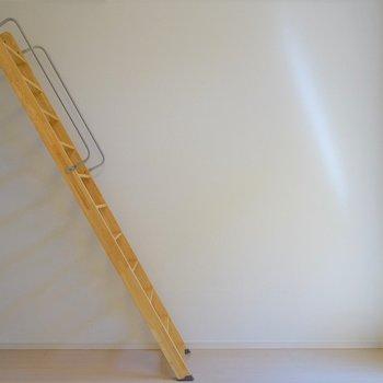 はしごを登れば。※写真は108号室のもの