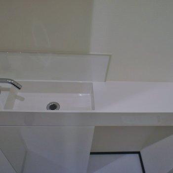 手洗い場も♩