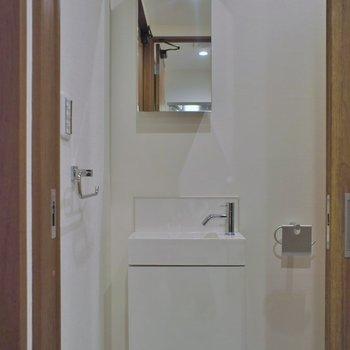 手洗い場も完備※写真は前回募集時のもの