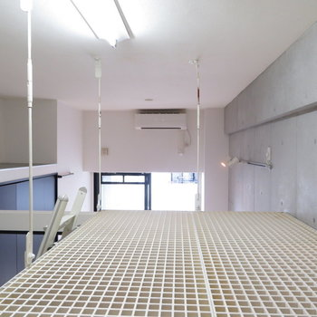 上にはこんな空間が※写真は3階の同間取り別部屋のものです