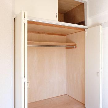 リビング収納の容量合格!※写真は4階の同間取り別部屋のものです