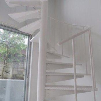 ぐるぐる螺旋階段!※写真は前回募集時のものです。