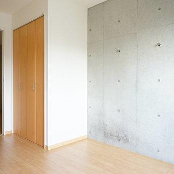 収納もそれぞれあるんです♪※写真は4階の同間取り別部屋のものです
