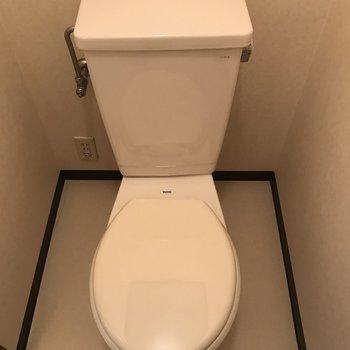 個室のトイレでした
