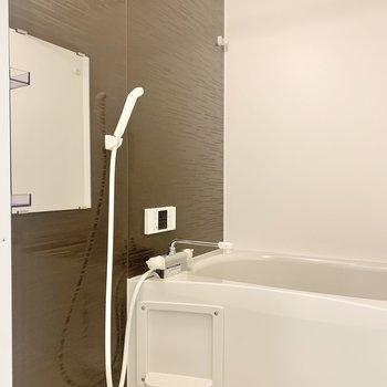 浴室乾燥機も付いています