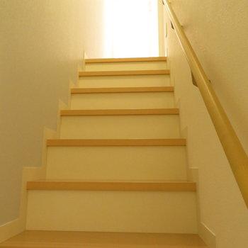 階段を下ると
