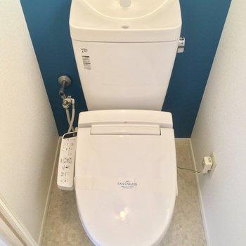 トイレもモチロン、個室ですよ。※写真は前回募集時のものです