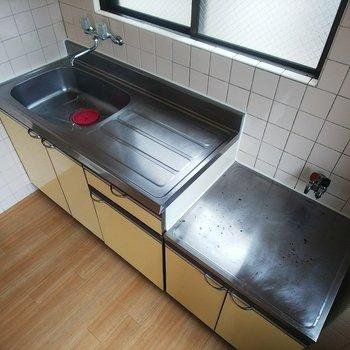 調理スペース大きめです!