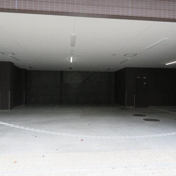 駐車場も完備です