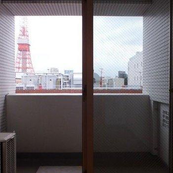 お部屋から東京タワーが!※写真は11階の同間取り別部屋のものです