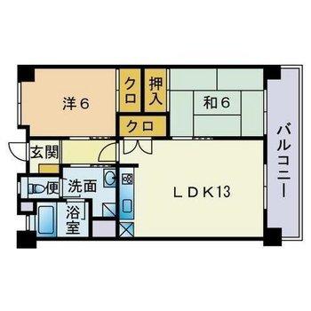 和室もあってゆったりファミリーさん向けのお部屋です!