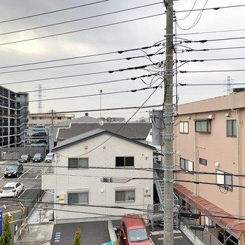 眺望は閑静な住宅街でしたよ。
