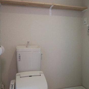 温水洗浄便座付きのトイレ!※写真は前回募集時のものです