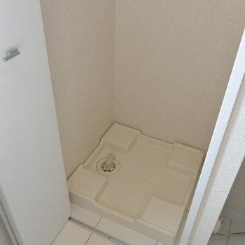 洗濯機隠せます※写真は11階の同間取り別部屋のものです