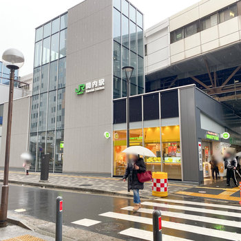最寄り駅は関内駅です。
