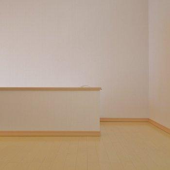 結構広めにスペースは確保されてます。※写真は202号室のもの