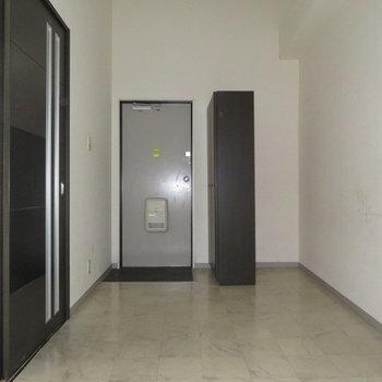 玄関から入ってすぐの空間ですね