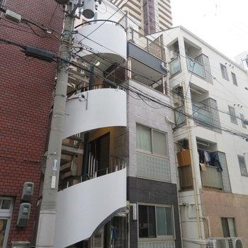 1フロア1戸のマンション