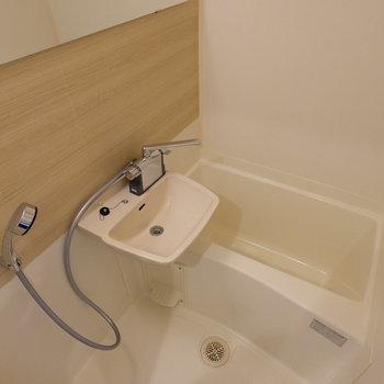 2点ユニットですが、シャワー口は交換しています◎