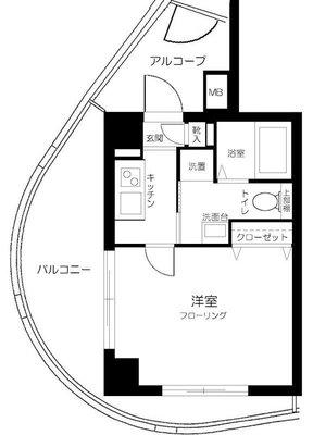グリフィン横浜・グランステージ の間取り