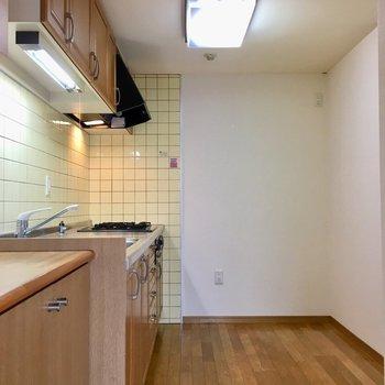 【LDK】充実キッチンを見てみましょう♪※写真は3階の同間取り別部屋ものです