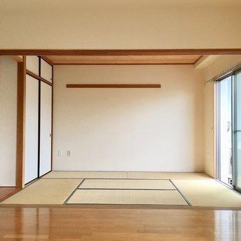 【LDK】奥行き感たっぷり。※写真は3階の同間取り別部屋ものです