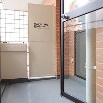 そしてリビングからも和室前のバルコニーにアクセスできちゃう!