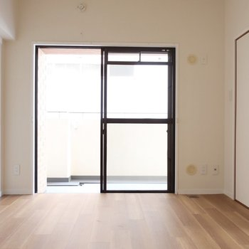 洋室は6帖。