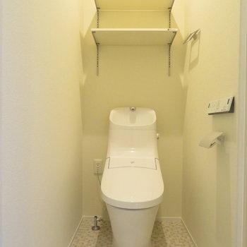 すっとしたかっこいいトイレ