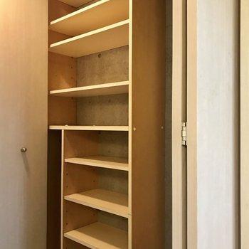 広めの玄関ですが、靴収納も容量ばっちり!すっきりした玄関にできそうですね。※写真は前回募集時のものです
