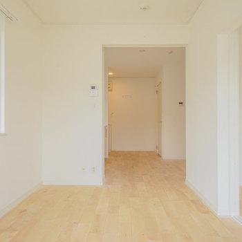 【イメージ】ホンワカ癒される無垢床です♪※写真は似た間取りの別部屋です