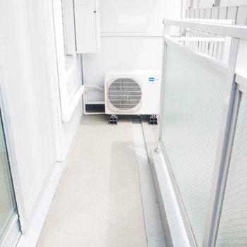 一人暮らしにはちょうどいいサイズ※写真は4階の反転間取り別部屋のものです