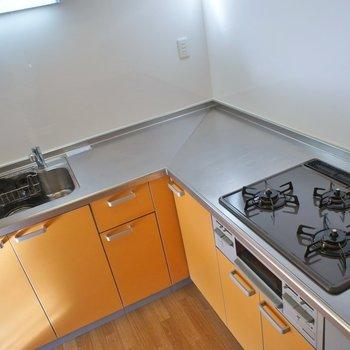 調理スペースは◎