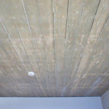 ウッドの天井がお洒落