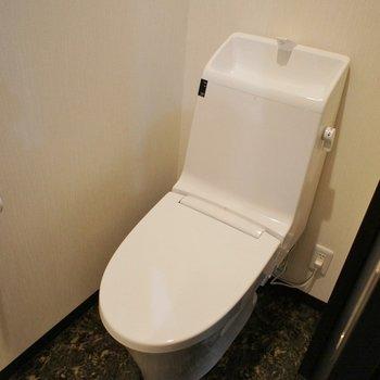トイレもスマートに。