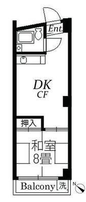 板橋カイセイ第3ビル の間取り