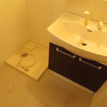 洗面脱衣所もあり。※写真は前回募集時のものです。