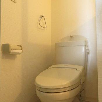 トイレは温水洗浄便座が。※写真は前回募集時のものです。