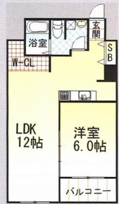 新大阪ステーションビル(H)の間取り