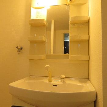 洗面台も普通に。※写真は前回募集時のものです。