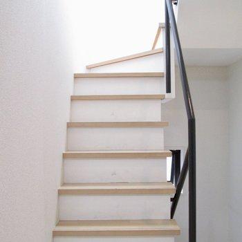 4階に上がって行くと〜