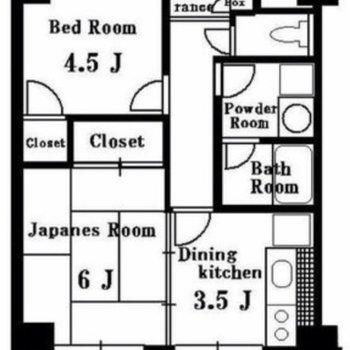 どのお部屋も使いやすい形をしています。