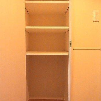 たて長のシューボックス。※写真は2階の反転似ている間取り別部屋のものです