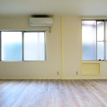 しっかりと窓も2面ありますしね。