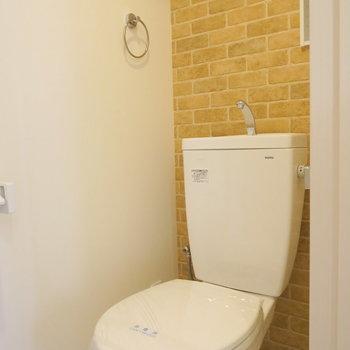トイレの壁もお洒落に※写真は前回掲載時のものです