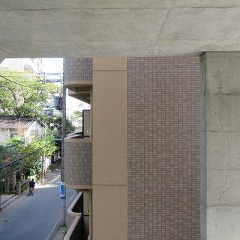 眺望はコンクリートに