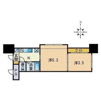 水回りと居室がしっかり分けられているから生活動線が確保しやすいね。
