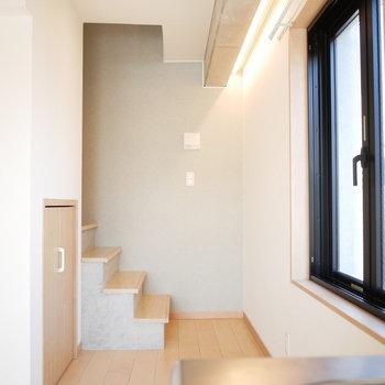 洋室は4階へ