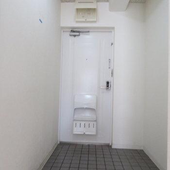 シューズボックスはありませんが玄関は大きいです